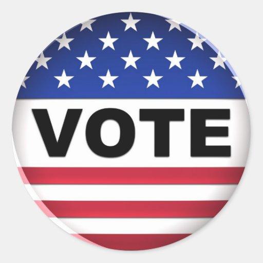 Vote - Sticker