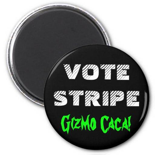 VOTE STRIPE FRIDGE MAGNETS