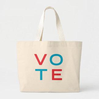 vote jumbo tote bag
