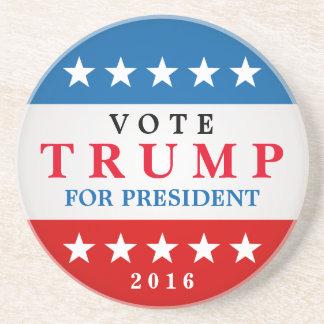 Vote Trump for President 2016 Support Campaign Coasters