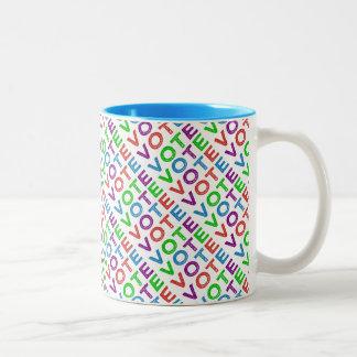 Vote Two-Tone Coffee Mug