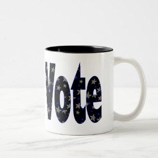 Vote Two-Tone Mug