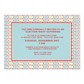 Vote Vote Vote Election Party Invitation