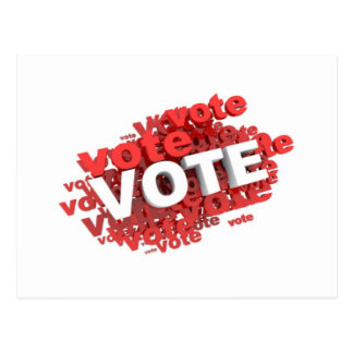 Vote Vote Vote Postcard