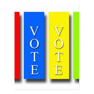 Vote Vote Vote Vote Postcard
