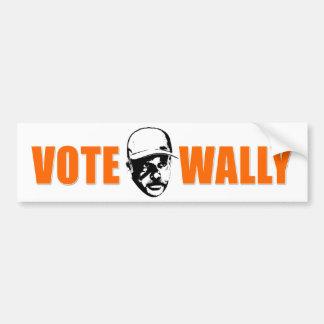 Vote Wally Bumpersticker Bumper Sticker