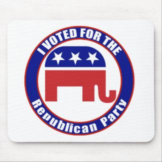 Voted Republican Original Mousepads