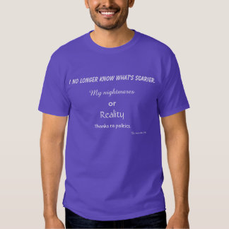 Voter dilemma t-shirts