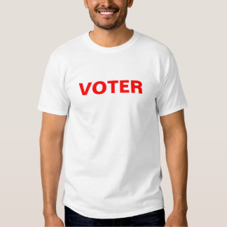 Voter T-shirts