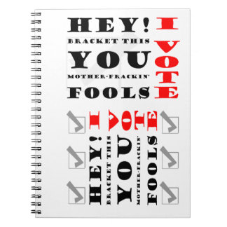Voters Rock Spiral Notebooks