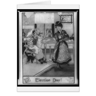 Votes for Women! Greeting Card