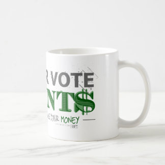 Voting Basic White Mug