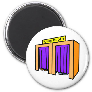 Voting Booth Refrigerator Magnet