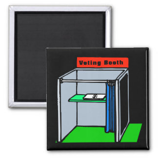 Voting Booth Fridge Magnets