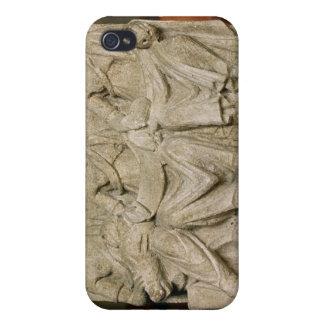 Votive sculpture of a triple mother deity case for iPhone 4