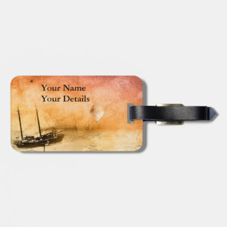 Voyage Steampunk Luggage Tag Personalised
