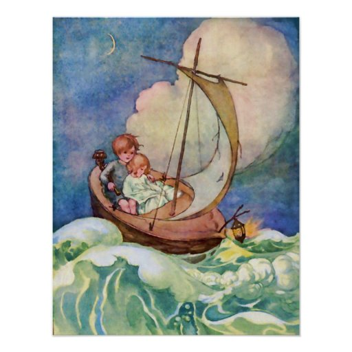 Voyage to Fairyland Vintage Poster