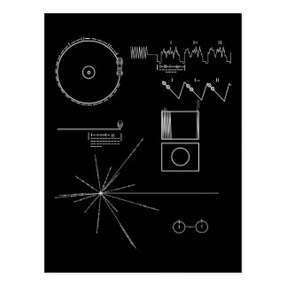 Voyager Message Postcard