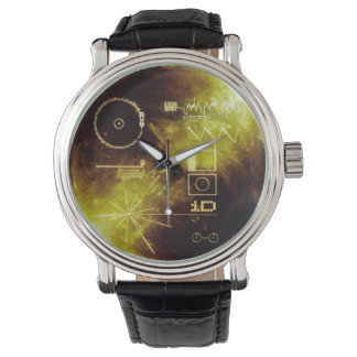 VOYAGER ONE | message to the cosmos Wrist Watches