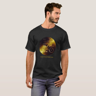 Voyager Spacecraft Golden Record Cover T-Shirt