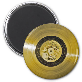 Voyager Spacecraft Golden Record Magnet