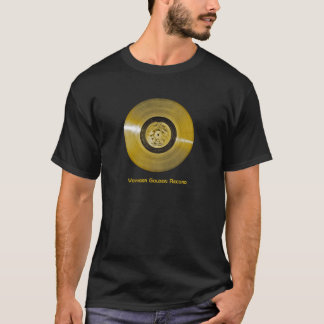 Voyager Spacecraft Golden Record T-Shirt