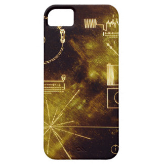 Voyager's Golden Record iPhone 5 Cases