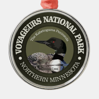 Voyageurs National Park (Loon) Metal Ornament