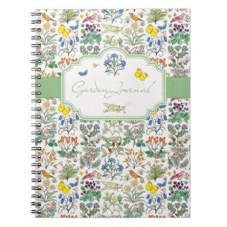 Voysey Apothecary's Garden Journal Notebook