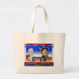 VP Debate Jumbo Tote Bag