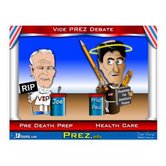 VP Debate Postcard