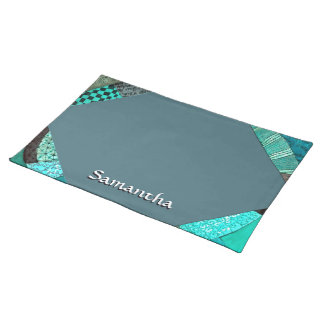 VPQ - Shades of Teal Place Mat