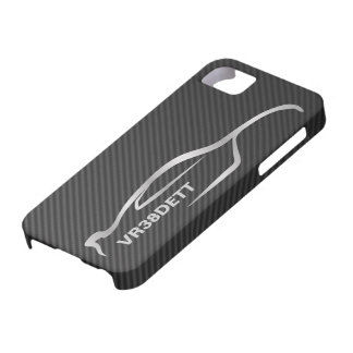"""VR38DETT"" Skyline GT-R Gray Silhouette Logo Barely There iPhone 5 Case"