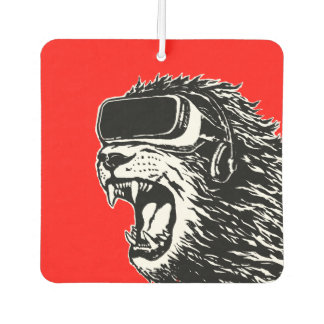VR Lion Car Air Freshener