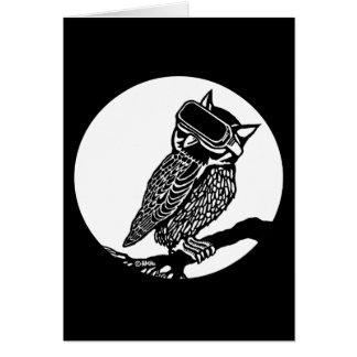 VR Owl Card