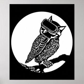 VR Owl Poster