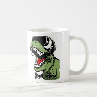 VR T-rex Coffee Mug