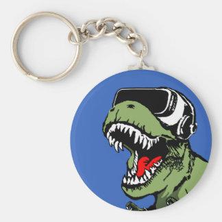 VR T-rex Key Ring