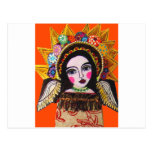 Vrgin of Guadalupe by Heather Galler