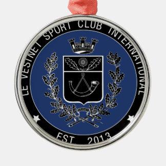 VSCI logo Silver-Colored Round Decoration