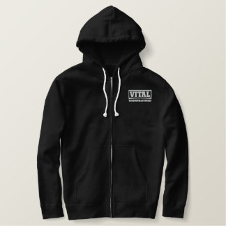 VSF Sherpa - lined Jumper Embroidered Hoodie