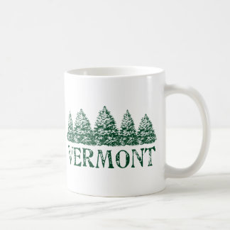 VT Winter Evergreens Coffee Mug