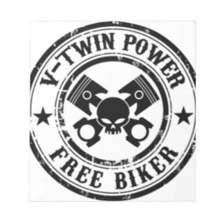 VTWIN POWER FREE BIKER NOTEPAD