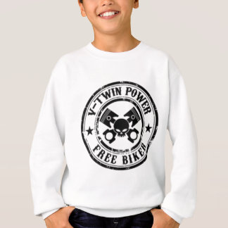 VTWIN POWER FREE BIKER SWEATSHIRT