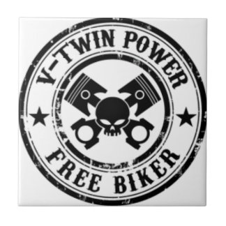 VTWIN POWER FREE BIKER TILE