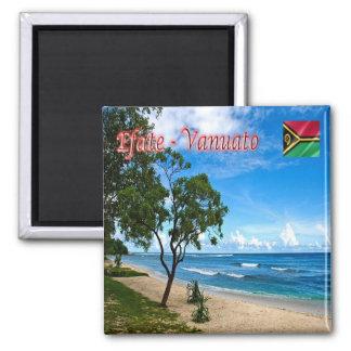 VU - Vanuatu - Efate -  Eratap Square Magnet