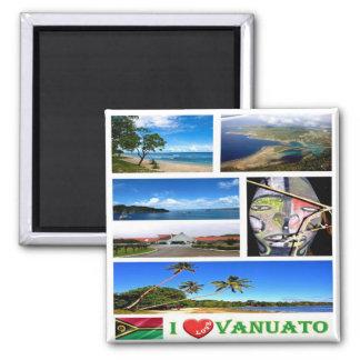 VU - Vanuatu - I Love Magnet