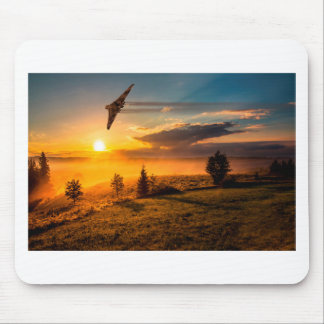 Vulcan Bomber Misty Dawn Mouse Pad