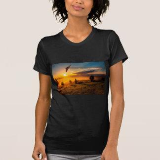 Vulcan Bomber Misty Dawn T-Shirt