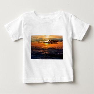 Vulcan bomber sunset sortie baby T-Shirt